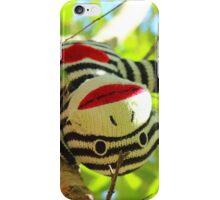 Monkey up a tree iPhone Case/Skin