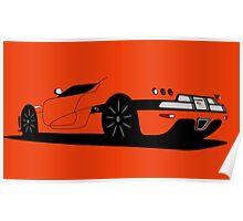Koenigsegg CCX Poster