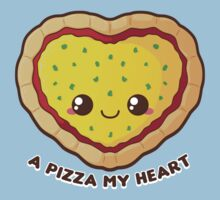 A Pizza My Heart Kids Clothes
