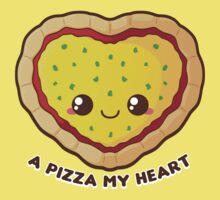 A Pizza My Heart One Piece - Short Sleeve
