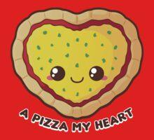 A Pizza My Heart Kids Tee