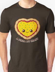 A Pizza My Heart Unisex T-Shirt
