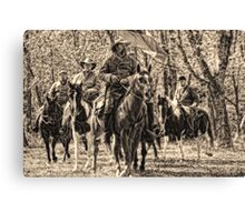 Tennessee Confederate Calvary Canvas Print