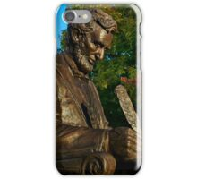 Gettysburg College - Abraham Lincoln Memorial iPhone Case/Skin