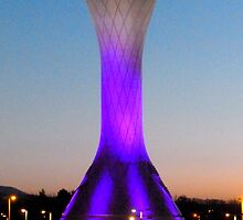 Edinburgh Airport Control Tower by ©The Creative  Minds