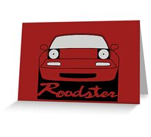 Eunos Roadster Front Greeting Card