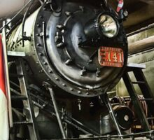 STEAM LOCOMOTIVE 2141 Sticker