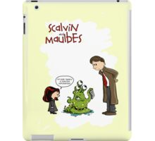 Scalvin and Maulbes iPad Case/Skin