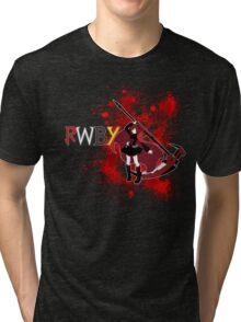 RWBY- Ruby Rose Tri-blend T-Shirt