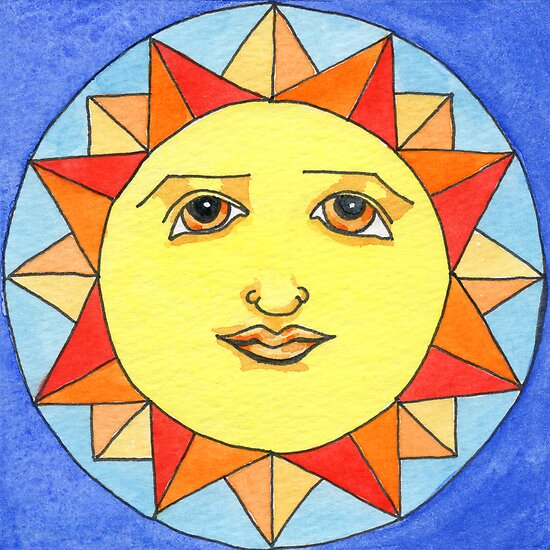 Solstice Sun by Amy-Elyse Neer