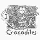 I LOVE CROCODILES T-shirt by ethnographics