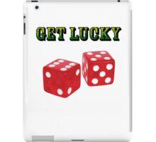 get lucky  iPad Case/Skin