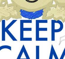 Keep Calm and Doodle - Goldendoodle Sticker