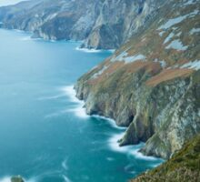 Slieve League sea cliffs in Co. Donegal Sticker