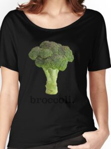 broccoli Women's Relaxed Fit T-Shirt