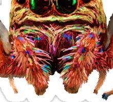Spider Psychedelic Sticker