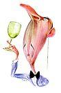 The Wine Snob No. 1 by drawgood