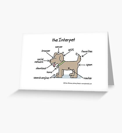 the Interpet Greeting Card