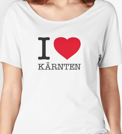 I ♥ KÄRNTEN Women's Relaxed Fit T-Shirt