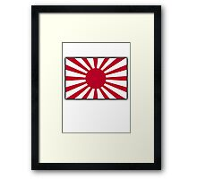 JAPAN, Imperial, Japanese, Army, War flag, WWII, Nippon, Kamikaze Framed Print