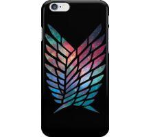 Attack on titan Nebula iPhone Case/Skin
