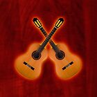 Double classical Guitar v2 ipad case by goodmusic