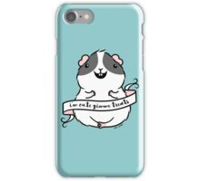 Guinea-pig - I'm Cute Gimme treats iPhone Case/Skin