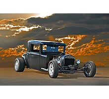 1930 Hudson Hot Rod Coupe Photographic Print
