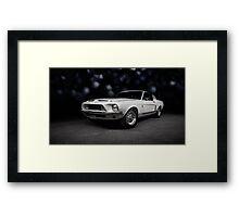 1968 Shebly GT500 KR Framed Print