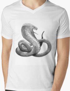 Snake Slytherin 2 Mens V-Neck T-Shirt