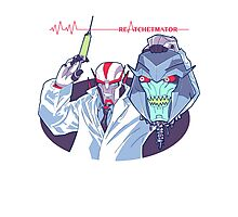 Transformers Prime Reanimator mashup ReAtchetmator Photographic Print