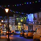 High Street at Night by magicaltrails