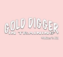 GOLD DIGGER IN TRAINING MINER'S KID Kids Tee