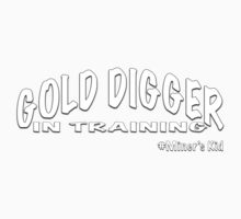GOLD DIGGER IN TRAINING MINER'S KID Kids Clothes