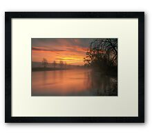 Another Lazonby Sunrise Framed Print