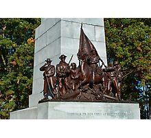 Gettysburg National Park - Virginia Memorial Photographic Print