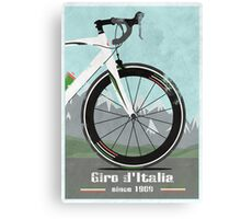 GIRO D'ITALIA BIKE Canvas Print