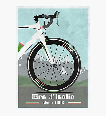 GIRO D'ITALIA BIKE Photographic Print