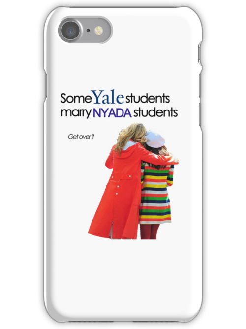 Some Yale marry NYADA PHONE by megzerlita