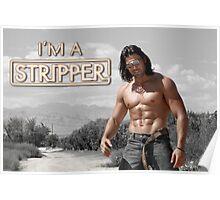 I'm a Stripper - Alexander Poster
