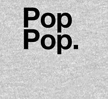 Pop Pop (Black) Unisex T-Shirt
