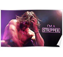 I'm a Stripper - Alexander on Stage Poster