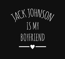 Jack Johnson is my boyfriend White Hoodie