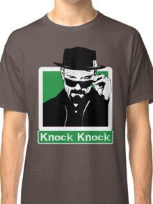"""Knock Knock"" _ Heisenberg Classic T-Shirt"