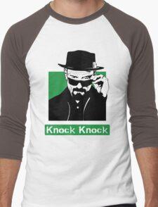 """""""Knock Knock"""" _ Heisenberg Men's Baseball ¾ T-Shirt"""