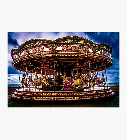 The Mystical Dragon Chariot Photographic Print