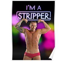 I'm a Stripper - Jeremy Poster