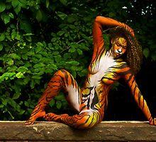 Tigress on her Perch by TheFotogArtist