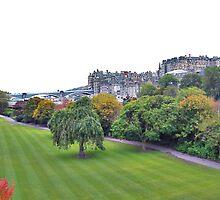 Edinburgh Princes Gardens by rubalo