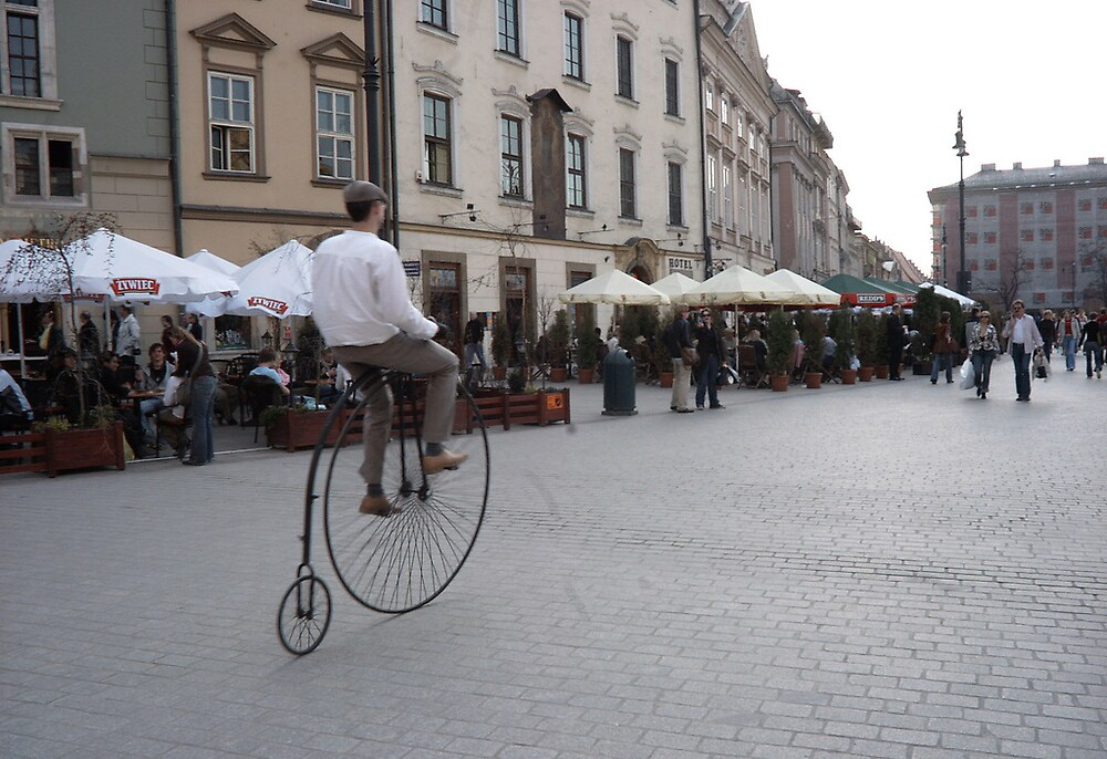 Penny farthing by rubalo